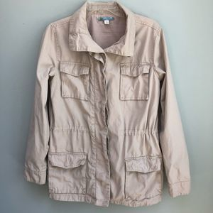 Moonlight | Tan Sinched Utility Jacket